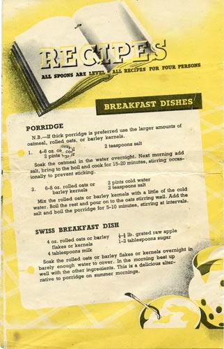 Porridge-recipe