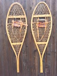 old style snow shoes