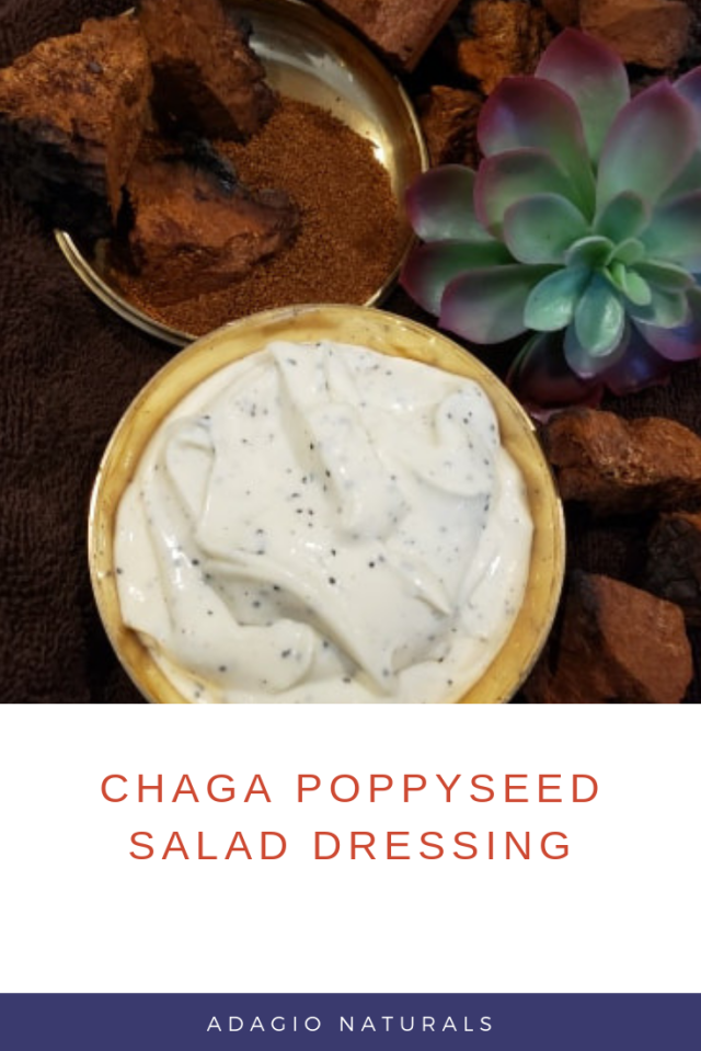 Chaga poppyseed Salad Dressing (1)